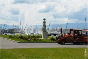 La statue de la Brise fut sculptée en 1940 par l'artiste Henri Koenig.